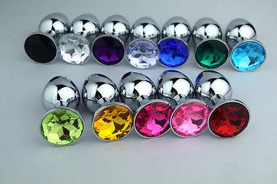 Le bijou anal de multiples couleurs pour usage anal Fun et séduction